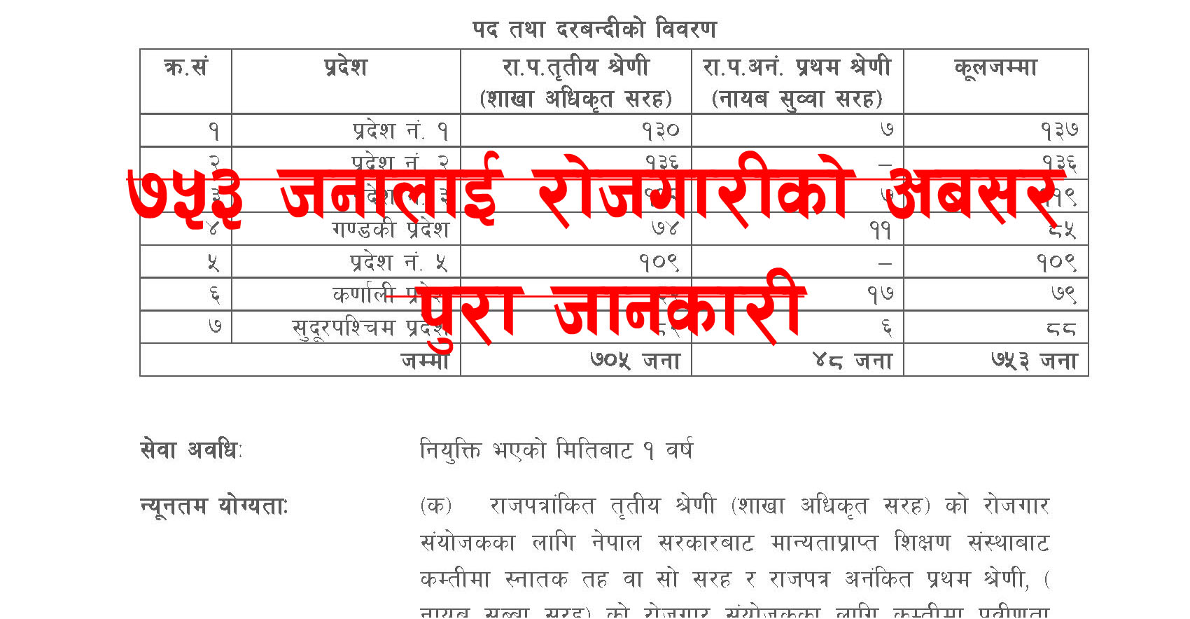 VacancyAnnouncement_Page_1 Job Application Form In Nepali on blank generic, part time, big lots, free generic, sonic printable,